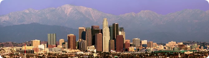Los Angeles Skyline - Della Huff Photography